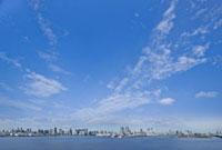お台場から見た東京湾岸パノラマ