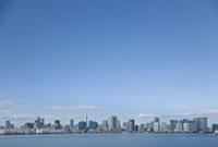 東京湾の遠景 10134001786| 写真素材・ストックフォト・画像・イラスト素材|アマナイメージズ