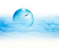 水と地球 10137002427  写真素材・ストックフォト・画像・イラスト素材 アマナイメージズ