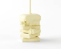 ホワイトチョコレート 10137008445| 写真素材・ストックフォト・画像・イラスト素材|アマナイメージズ