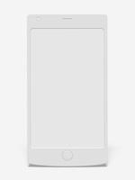 スマートフォンのモノクロイメージ