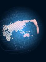 回路と立体の世界地図