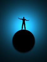 玉乗りするシルエットの男性 10143004263| 写真素材・ストックフォト・画像・イラスト素材|アマナイメージズ