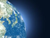 地球儀の日本 10143004283| 写真素材・ストックフォト・画像・イラスト素材|アマナイメージズ