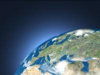 地球儀のユーロ圏