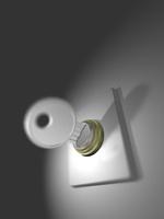 キーを回す 10143004406| 写真素材・ストックフォト・画像・イラスト素材|アマナイメージズ
