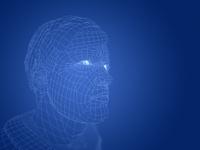 ワイヤーフレームの男性 10143004519| 写真素材・ストックフォト・画像・イラスト素材|アマナイメージズ