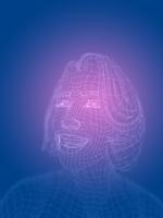 ワイヤーフレームの女性 10143004521| 写真素材・ストックフォト・画像・イラスト素材|アマナイメージズ