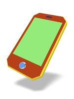 カラフルなスマートフォン