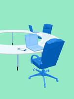 会議テーブルとビジネスチェア 10143009860| 写真素材・ストックフォト・画像・イラスト素材|アマナイメージズ