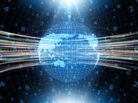 グローバル経済イメージの地球地図 10143009868| 写真素材・ストックフォト・画像・イラスト素材|アマナイメージズ