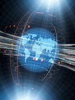 グローバル経済イメージの地球地図 10143009869| 写真素材・ストックフォト・画像・イラスト素材|アマナイメージズ