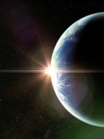 地球の日の出イメージ(アジア) 10143009897  写真素材・ストックフォト・画像・イラスト素材 アマナイメージズ