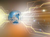 ITグローバル背景 10143009917| 写真素材・ストックフォト・画像・イラスト素材|アマナイメージズ