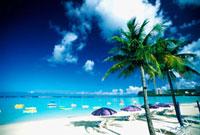 グアムのタモンビーチ