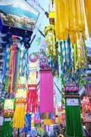 湘南ひらつか七夕まつり 10146004276| 写真素材・ストックフォト・画像・イラスト素材|アマナイメージズ