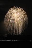 片貝まつり花火大会の三尺玉
