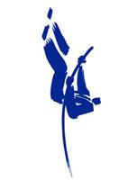 棒高跳びをするビジネスマン 10155000459| 写真素材・ストックフォト・画像・イラスト素材|アマナイメージズ