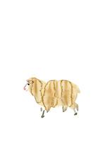 無地左向き全身羊 10155000800| 写真素材・ストックフォト・画像・イラスト素材|アマナイメージズ