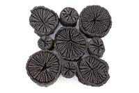 クヌギの炭 菊花炭 10158003584| 写真素材・ストックフォト・画像・イラスト素材|アマナイメージズ