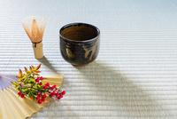 抹茶とナンテン