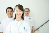 看護婦と医師