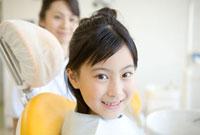 歯科医院の少女