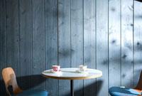 カフェの客席