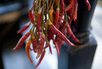 複数の赤トウガラシ