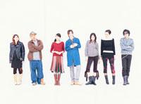 日本人と外国人の若者7人