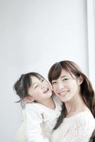 母親と子供のポートレート