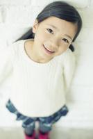笑顔の可愛い女の子