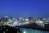 テレコムセンター展望台より東京スカイツリー方向の眺め