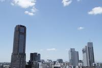 渋谷ヒカリエから見る道玄坂方向の眺め