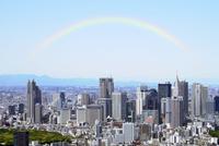 東京シティビューのスカイデッキから見る新宿副都心