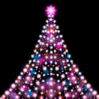 光のクリスマスツリー 10169000462| 写真素材・ストックフォト・画像・イラスト素材|アマナイメージズ