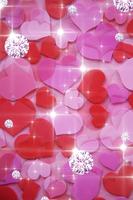 ハートとジュエリー 10169001388  写真素材・ストックフォト・画像・イラスト素材 アマナイメージズ
