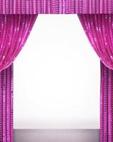 ピンクの緞帳 10169001725| 写真素材・ストックフォト・画像・イラスト素材|アマナイメージズ