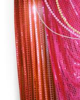 キラキラのカーテン