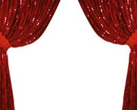 キラキラの緞帳 10169001738| 写真素材・ストックフォト・画像・イラスト素材|アマナイメージズ