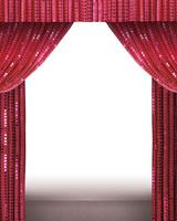 キラキラの緞帳 10169001741| 写真素材・ストックフォト・画像・イラスト素材|アマナイメージズ
