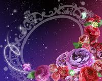 花束とフレーム