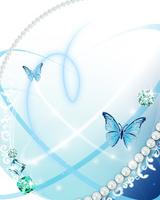 蝶と宝石 10169001778  写真素材・ストックフォト・画像・イラスト素材 アマナイメージズ