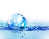 水と地球 10169001841| 写真素材・ストックフォト・画像・イラスト素材|アマナイメージズ
