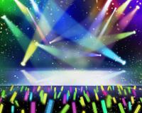 スポットライトがあたるステージ 10169001873| 写真素材・ストックフォト・画像・イラスト素材|アマナイメージズ