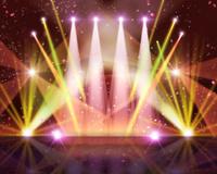 スポットライトがあたるステージ 10169001874| 写真素材・ストックフォト・画像・イラスト素材|アマナイメージズ