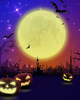 ハロウィンの夜 10169001897| 写真素材・ストックフォト・画像・イラスト素材|アマナイメージズ