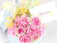 カーネーションとバラのアレンジメント 10170000195| 写真素材・ストックフォト・画像・イラスト素材|アマナイメージズ