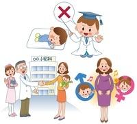 赤ちゃんの医療 産み分けと産後の育児 10173003040| 写真素材・ストックフォト・画像・イラスト素材|アマナイメージズ