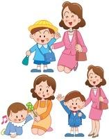 男の子の誕生と幼稚園入園と小学校入学